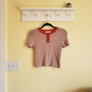 Urban Outfitters ☆ Vintage Inspired Crop Sweater